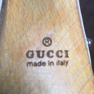 Gucci Shoes - GUCCI-HORSEBIT. Platform Heel Sandal- Nude. 38.5